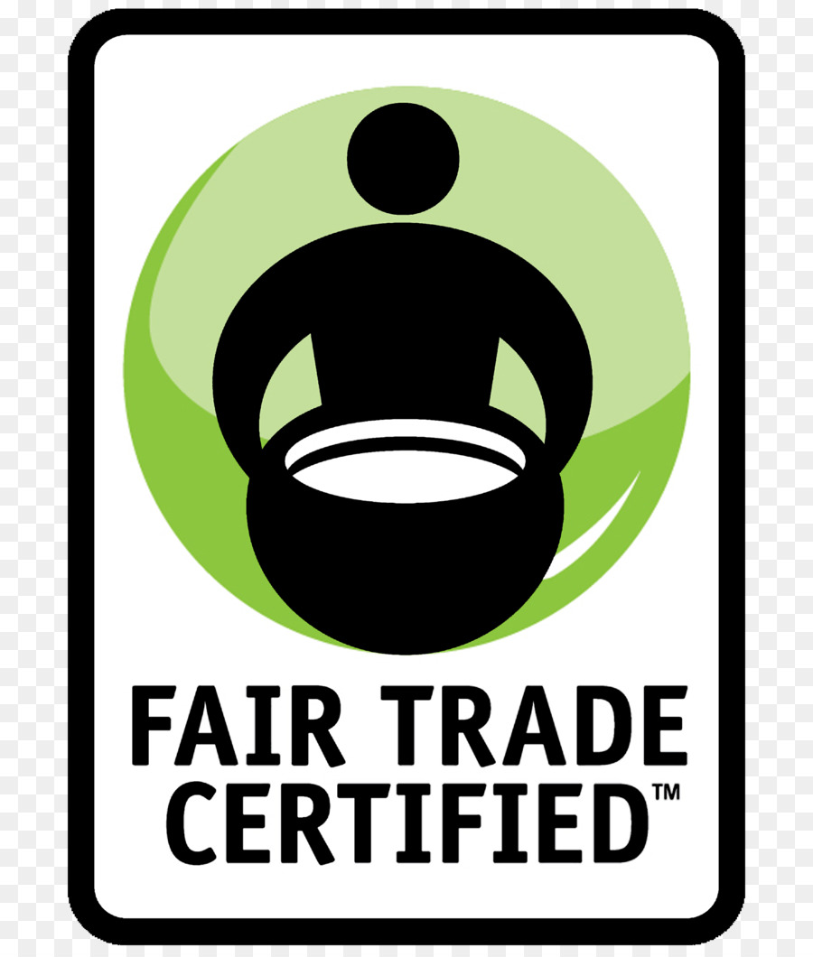 Fairtrade Certification Green png download.