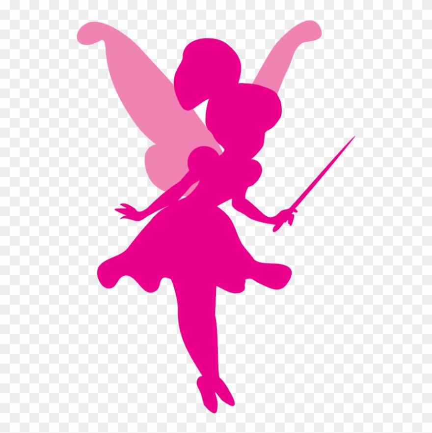 Silhouette Clipart Fairy Silhouette.