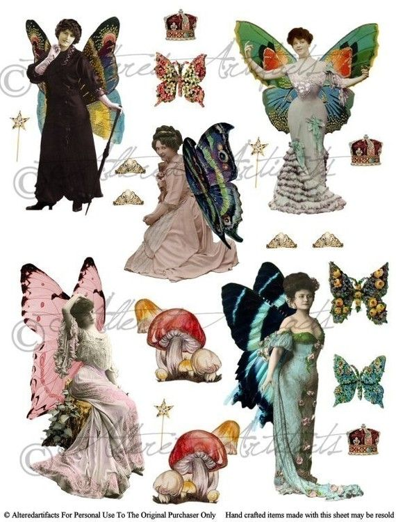 17 Best images about Printables Fairies & Wings on Pinterest.