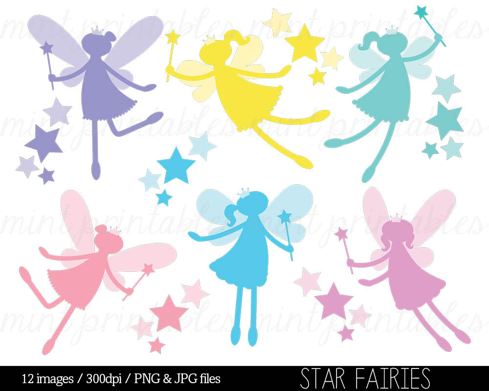 Free Printable Clipart Fairy Table.
