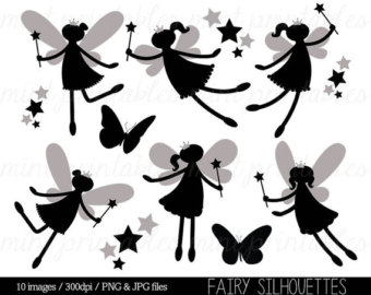 Clipart Fairy Printables.