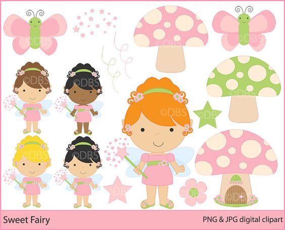 The Clipart Fairy Printables.