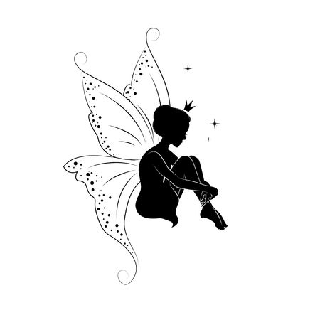 16,287 Fairy Silhouette Stock Illustrations, Cliparts And Royalty.