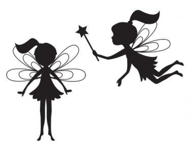 85+ Fairy Silhouette Clip Art.