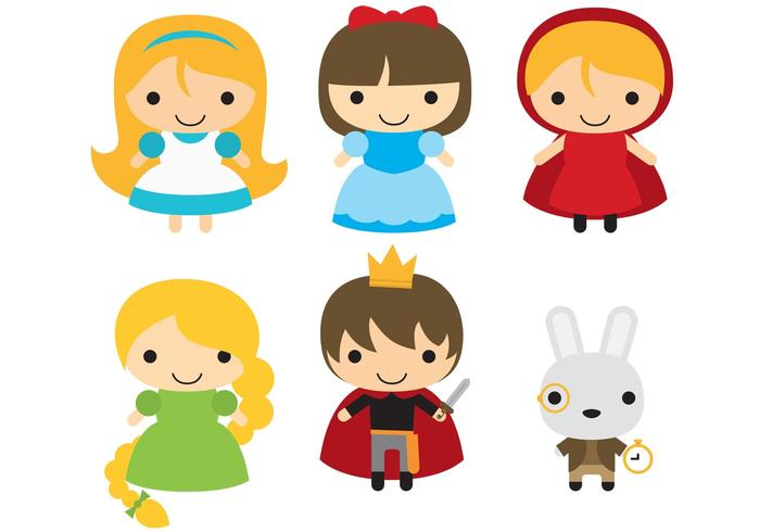 Fairytale Character Vectors.