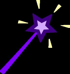 Purple Wand Clip Art at Clker.com.