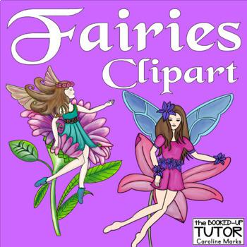 FAIRY CLIPART {fairies art}.