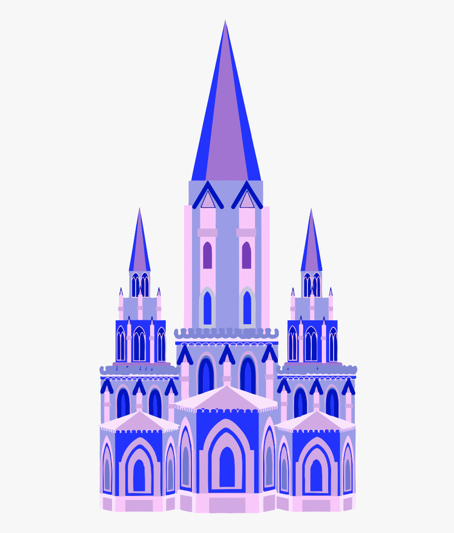 Fairy Tale Clipart Castle.