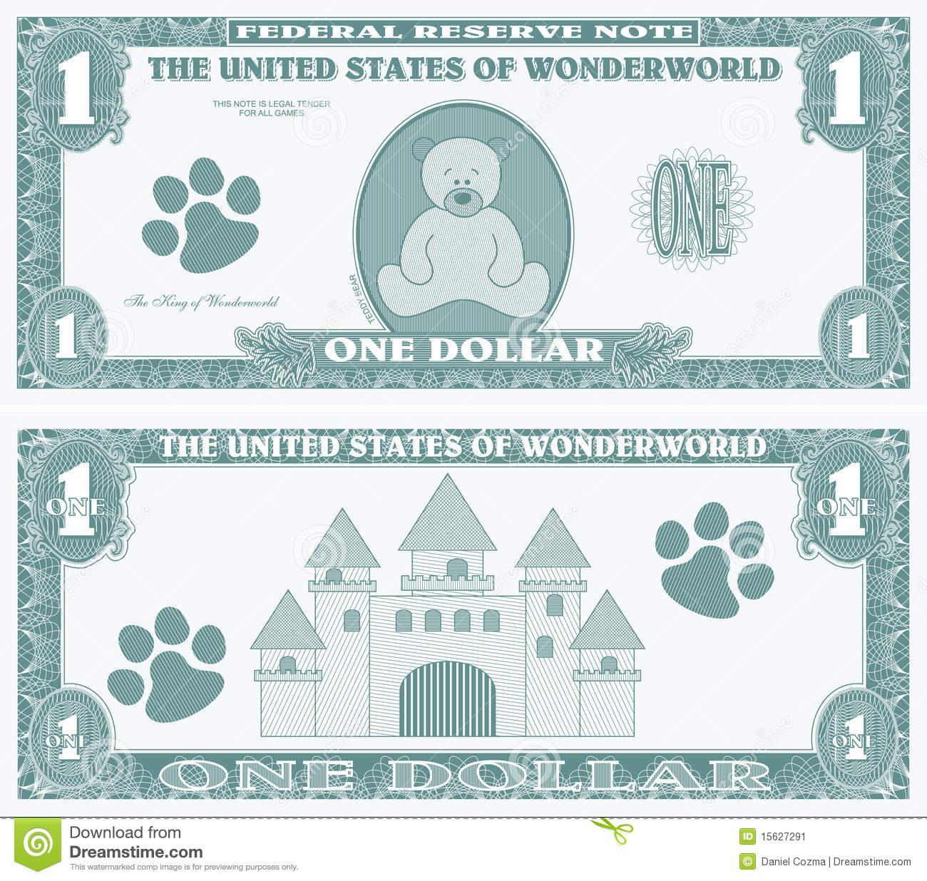 clipart fake money