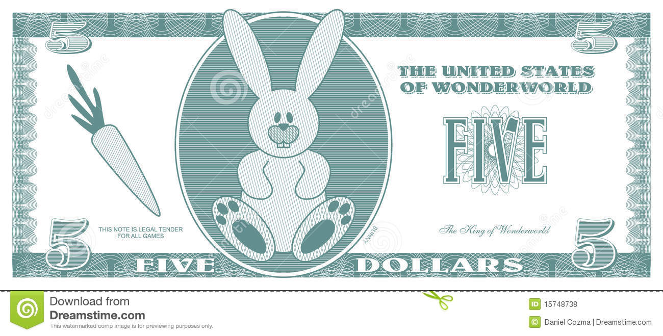clipart fake money - Clipground