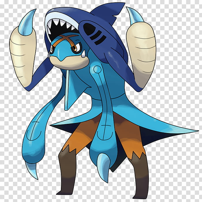 Contest Price : Captain Fakemon, blue illustration of fake.