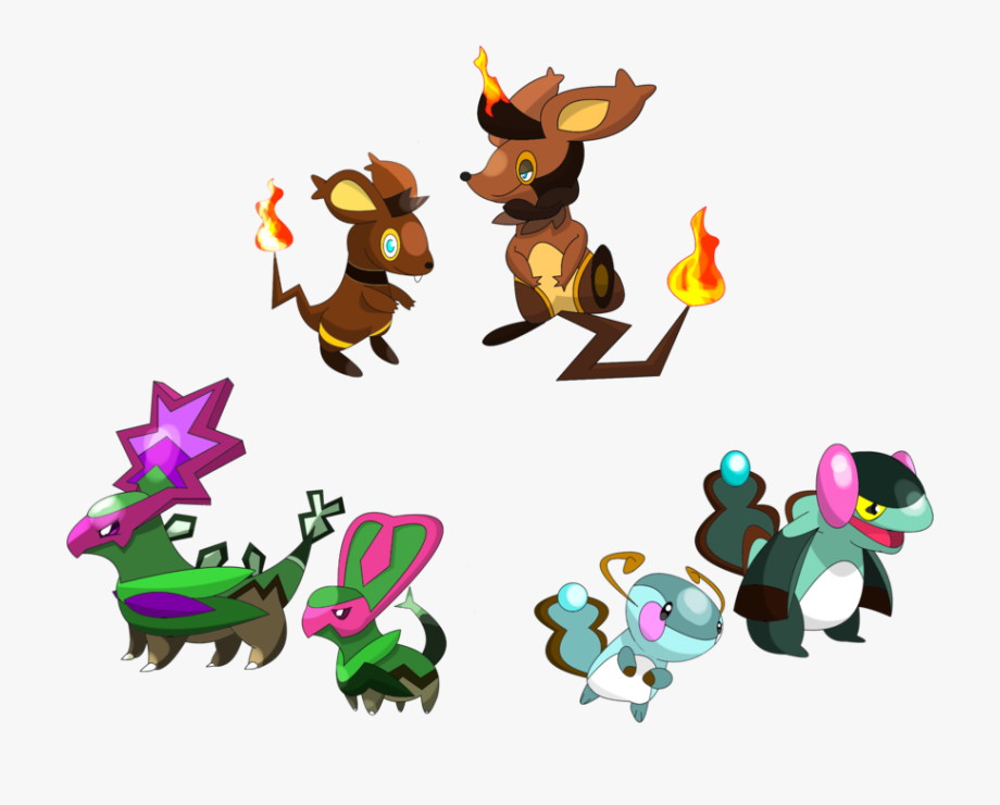 Fakemon Starters My By Clipart Free Clip Art Images.
