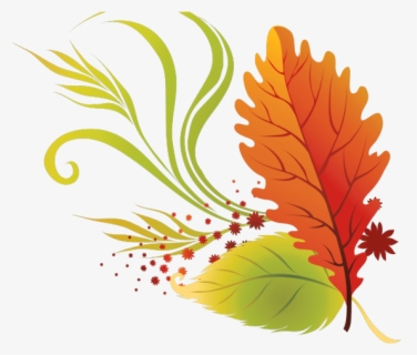 Free Fall Clip Art with No Background.