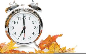 Fall Back Clipart Daylight Saving Time.