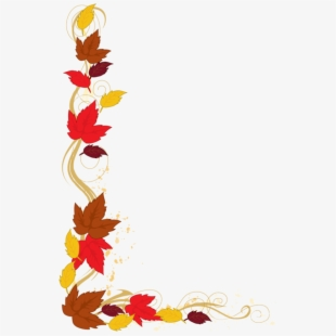 PNG Fall Borders Free Cliparts & Cartoons Free Download.
