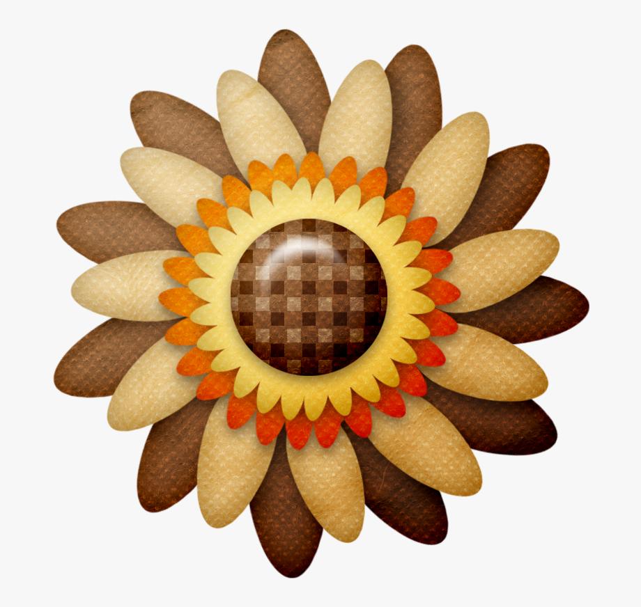 B *✿* Flower Clipart, Fall Flowers, Autumn, Clip Art.