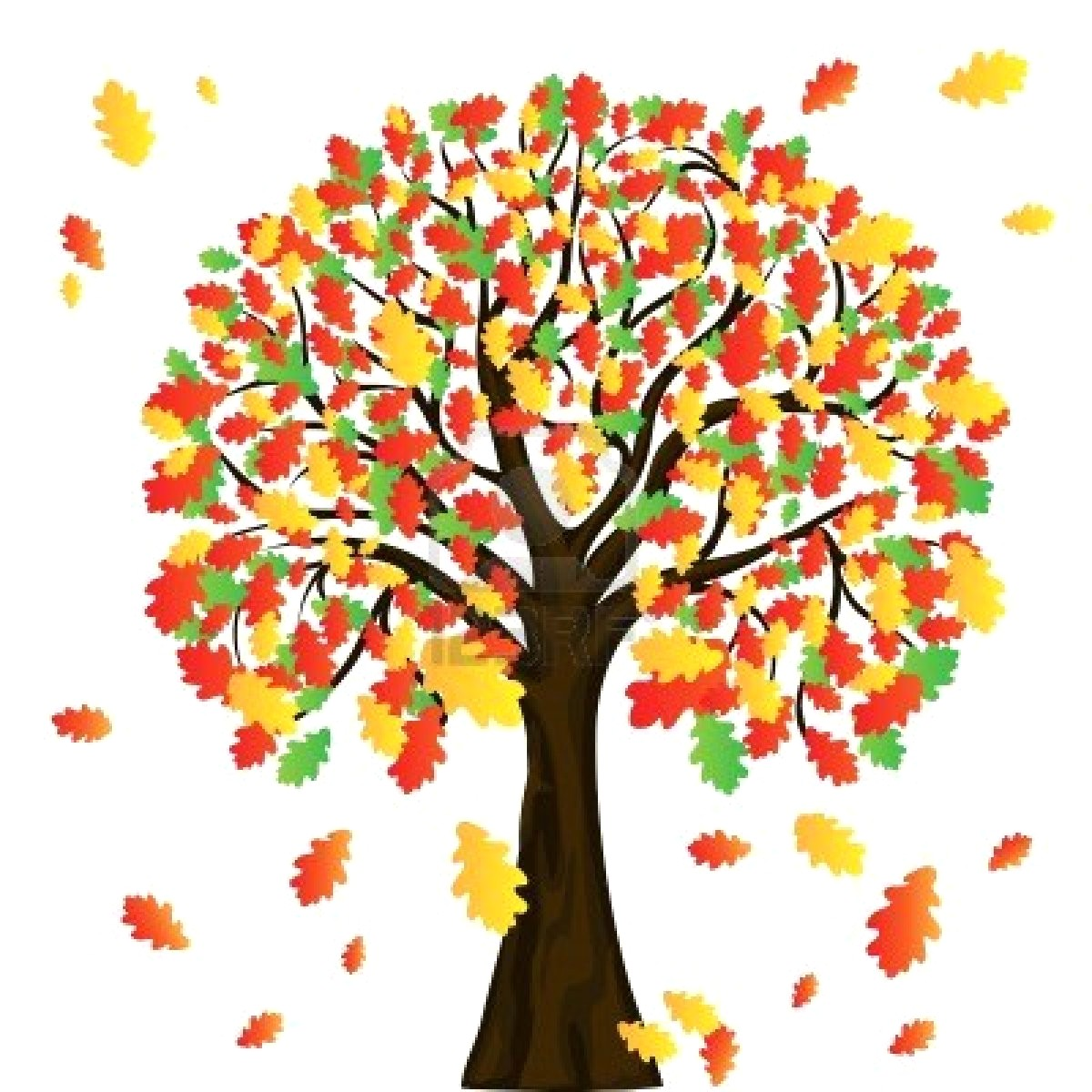 Fall tree clipart 2 » Clipart Station.