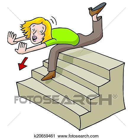 Falling down stairs clipart 2 » Clipart Portal.