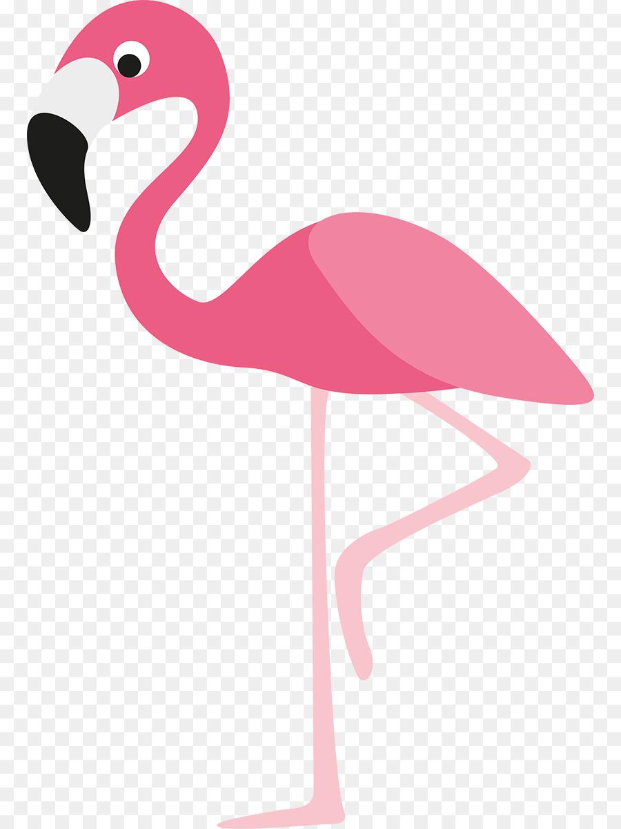 Pink Flamingo clipart.