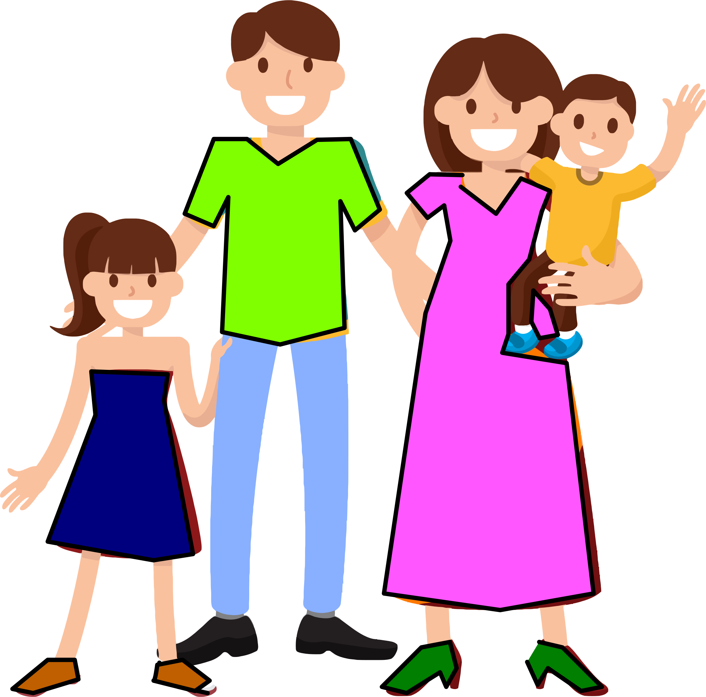 Familie clipart png 5 » PNG Image.