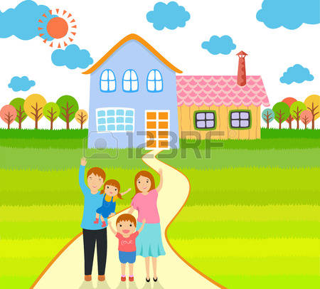 309 Family House Outside Stock Illustrations, Cliparts And Royalty.