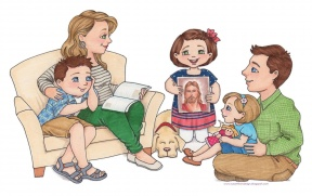 Family Home Clipart.