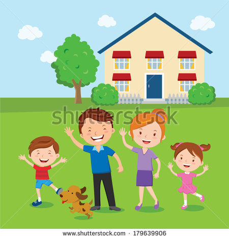 Vector Images, Illustrations and Cliparts: Happy family. Family.