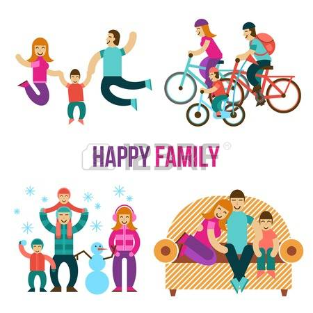 49,192 Family Fun Stock Vector Illustration And Royalty Free.
