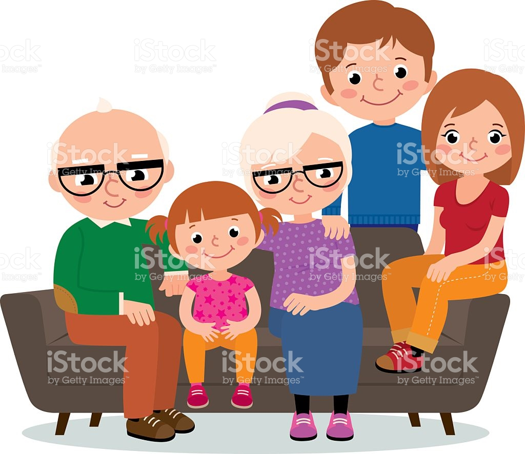 Two Generation Family Clip Art, Vector Images & Illustrations.