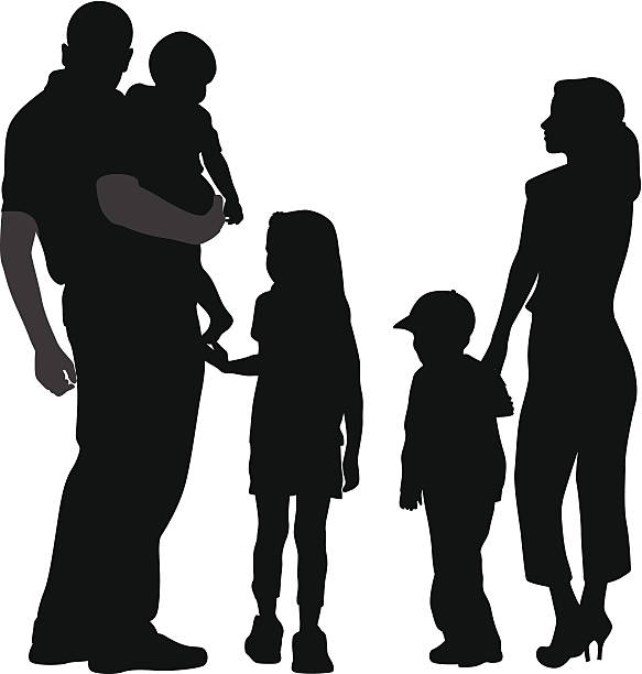 Family of 5 clipart 2 » Clipart Station.