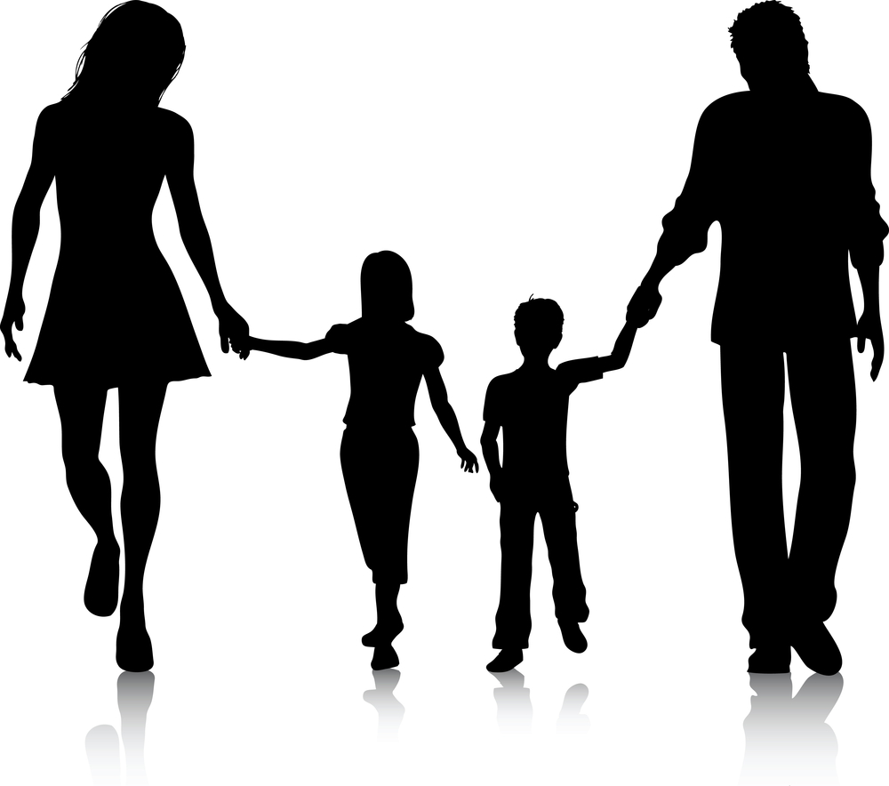Family of 5 clipart 3 » Clipart Station.