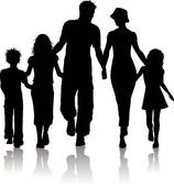 Family of 5 clipart » Clipart Station.