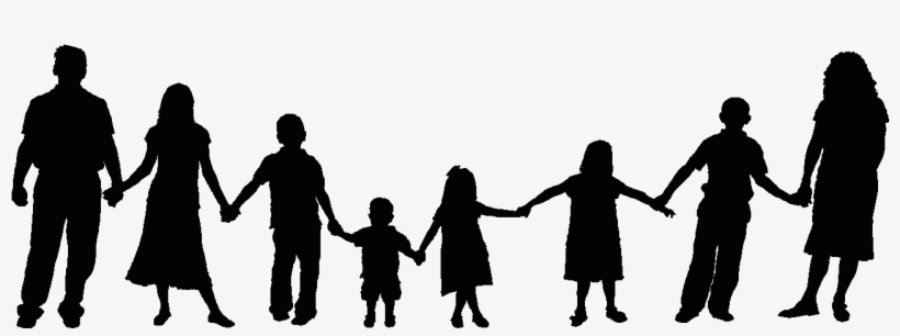 Shadow Clipart Family 6.