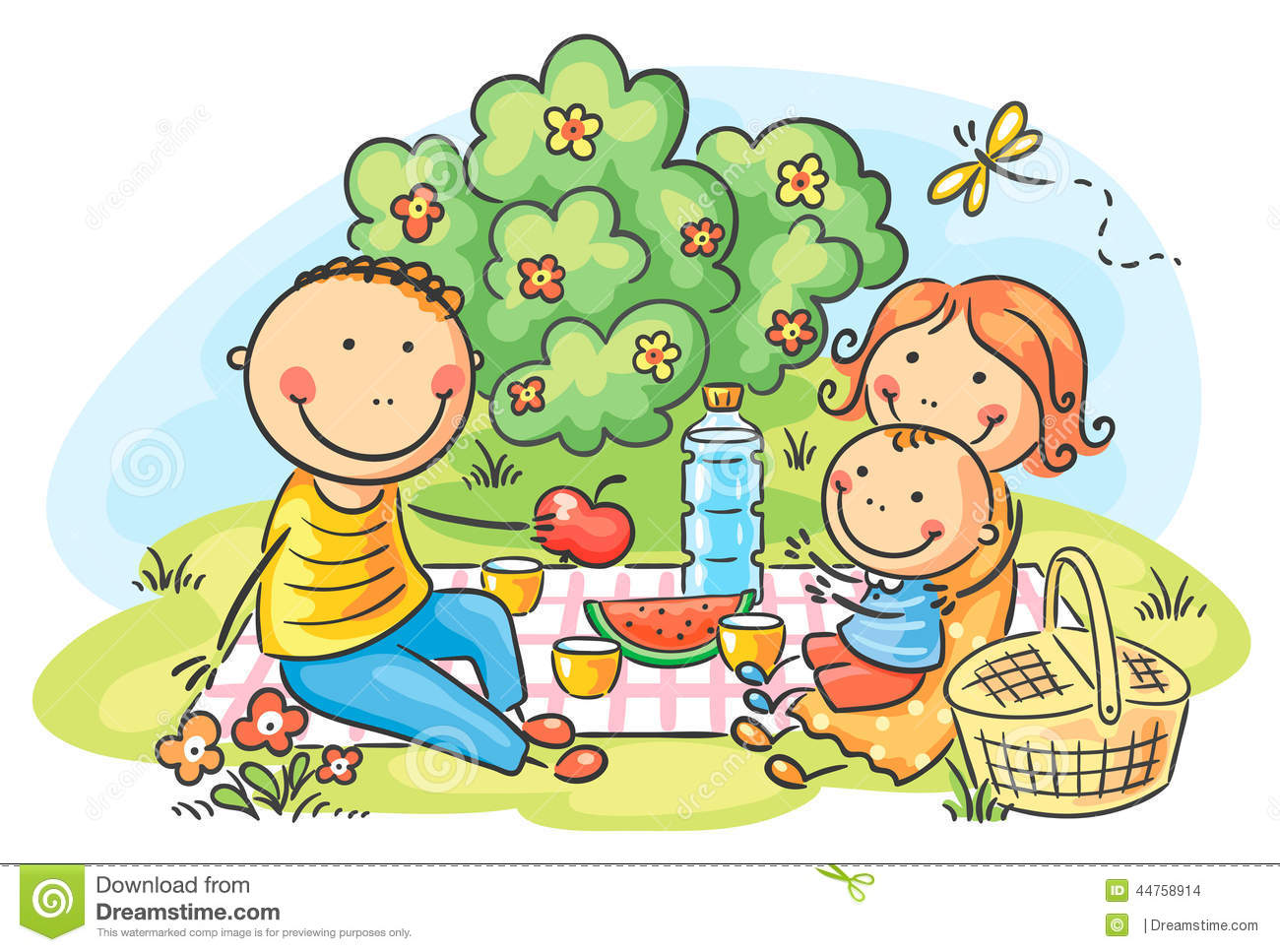 Family Picnic Clipart & Family Picnic Clip Art Images.