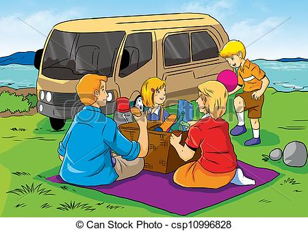 Family picnic Illustrations and Clipart. 1,187 Family picnic.
