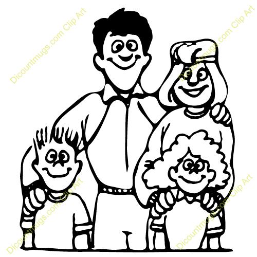 Family portrait clipart 6 » Clipart Station.