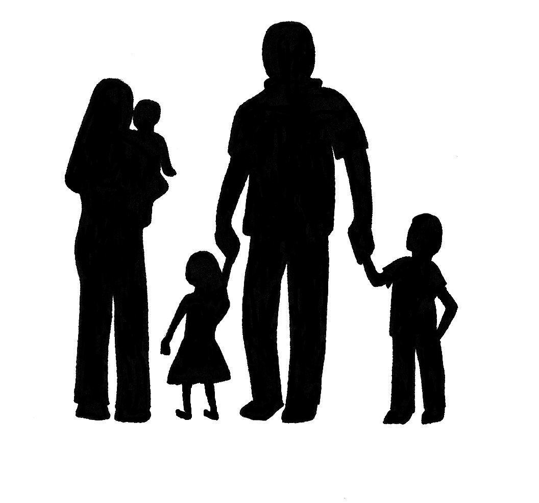 Free Family Silhouette Cliparts, Download Free Clip Art.