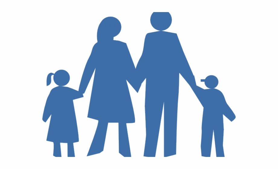 Clipart Family Silhouette.