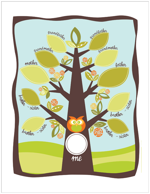 Family Tree Template: My Family Tree.