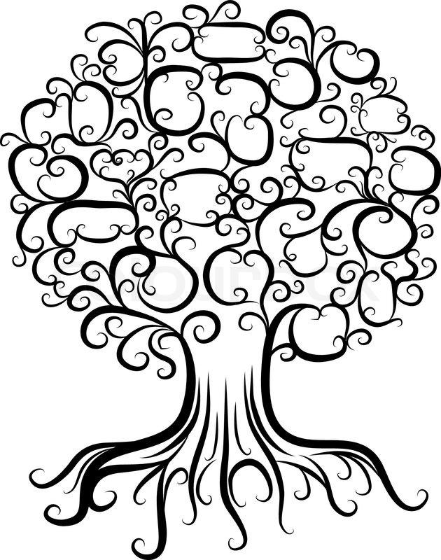 Family Tree Clipart Free.