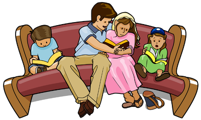 Clipart Of Family Working Together