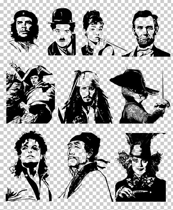 Silhouette Pirates Of The Caribbean Person PNG, Clipart.