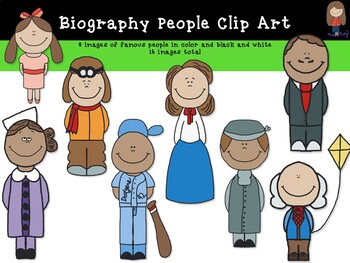 Famous People Clipart!.