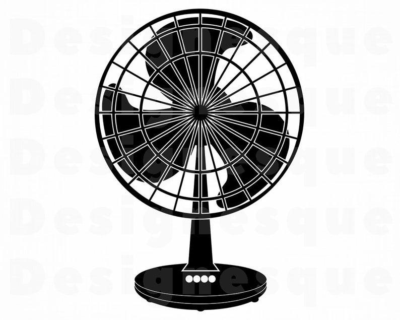 Fan #2 SVG, Fan SVG, Summer Svg, Fan Clipart, Fan Files for Cricut, Fan Cut  Files For Silhouette, Fan Dxf, Fan Png, Fan Eps, Fan Vector.