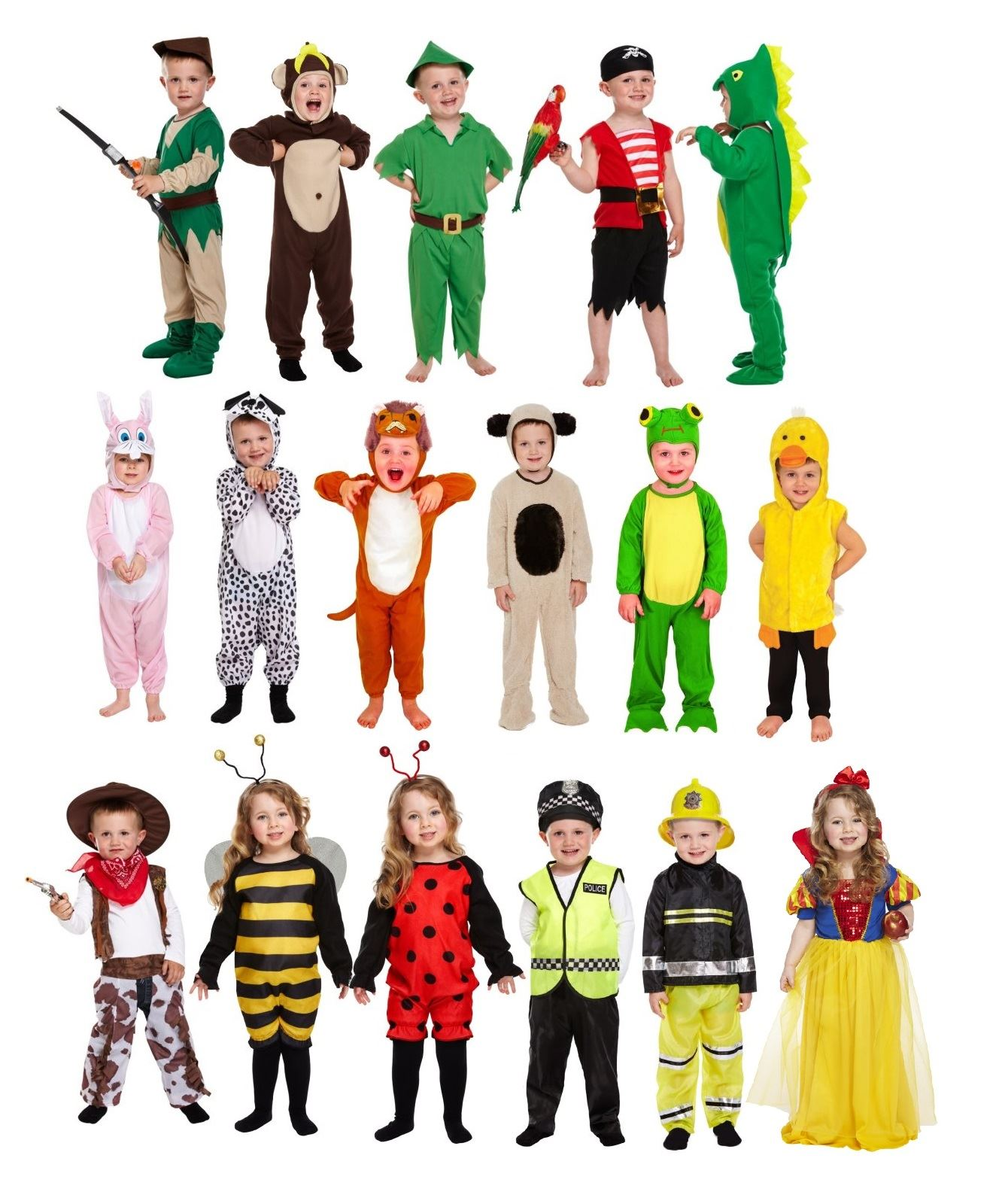 Details about Toddler Fancy Dress Outfit Girls Boys Costume Book Week.