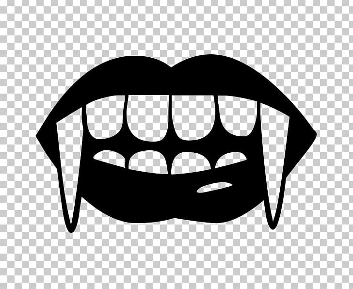 Fang Vampire Tooth PNG, Clipart, Bat, Black, Black And White.
