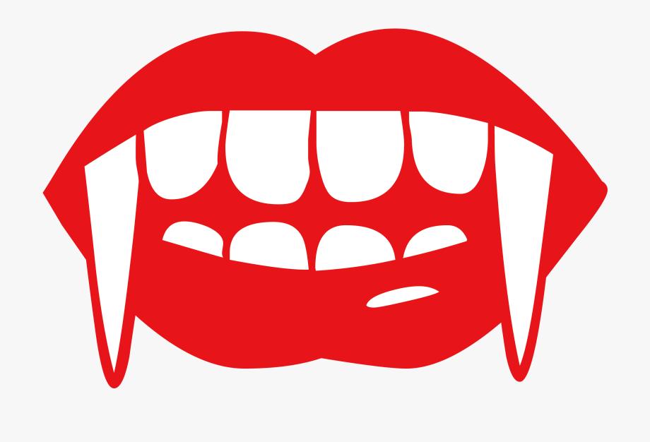 Fang Vampire Tooth Clip Art.