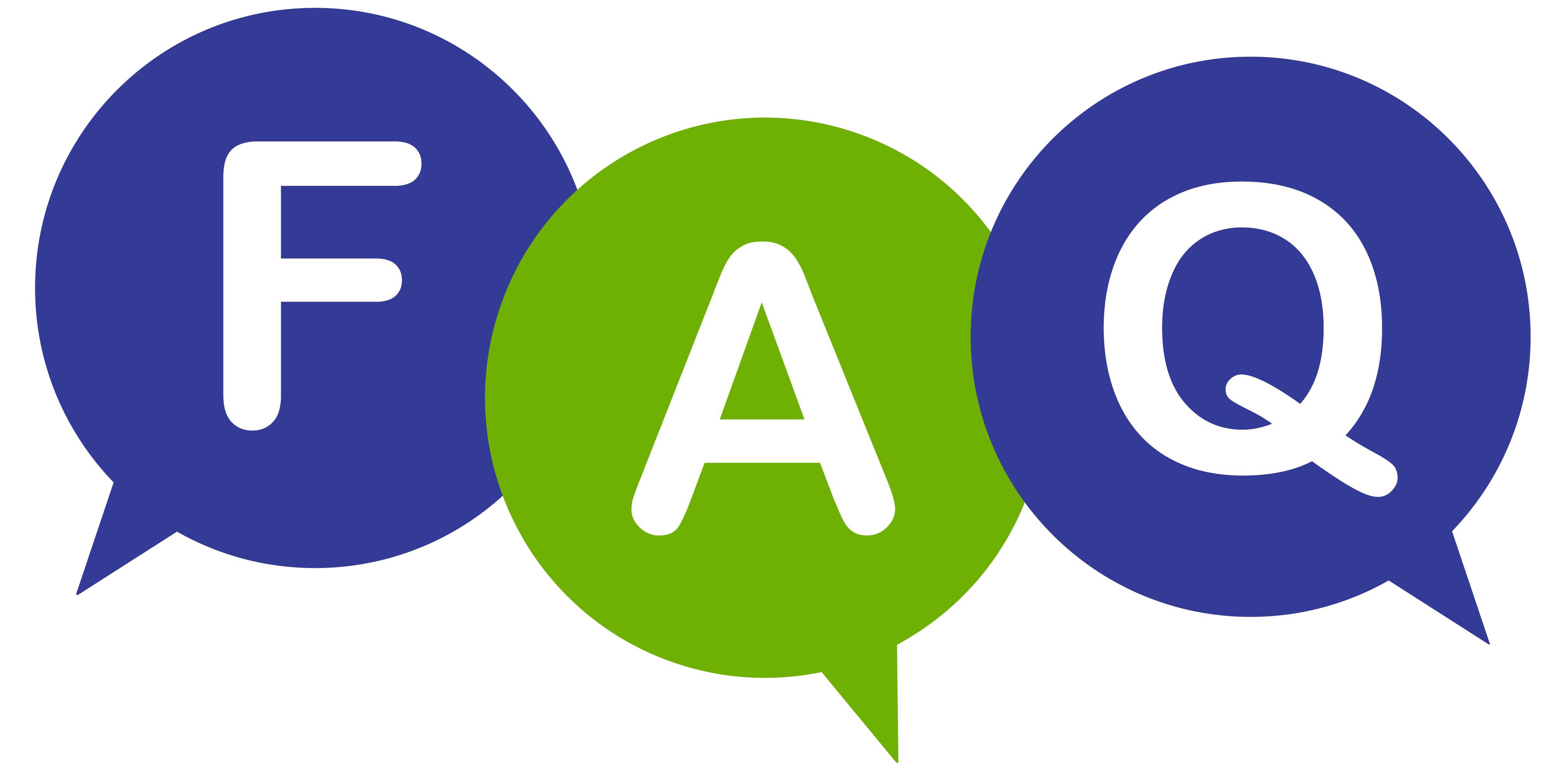 FAQ PNG Clipart.