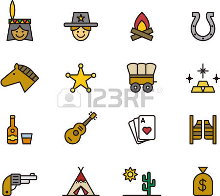 292 Far West Stock Vector Illustration And Royalty Free Far West.