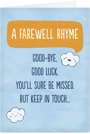17 best ideas about Farewell Card on Pinterest.